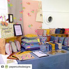 Loving @papercuttsdesigns display - we're here until 5 today #urbanmakerseast #designermaker