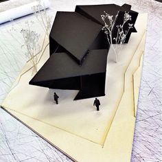 18.36.54 House by Daniel Libeskind ▲ Model ny @chavapimentel ▲ #iarchitectures #architecture #archilovers #arquitectura #architettura #architectural #architects #architecturestudent #architecturemodel #architectureschool #sketch #rendering #handrender #doodle #drawing #art #modelmaking #maquette #maqueta