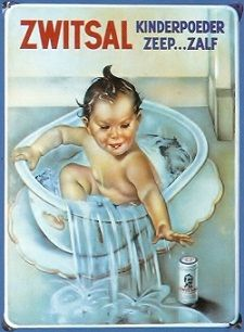Old dutch Zwitsal childrens soap add