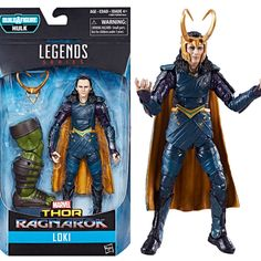"Thor Ragnarok Marvel Legends Figures Revealed! ""On the villainous side, we've got the first Marvel Legends Loki movie figure ever released at mass retail in the United States... "" Link: http://marveltoynews.com/thor-ragnarok-marvel-legends-figures-revealed-gladiator-hulk/"