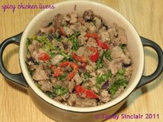 This recipe for spicy chicken livers is to me the perfect way to cook a quick meal when time is not on your side.