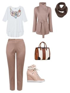 классический стиль by ella020-1 on Polyvore featuring мода, See by Chloé and Massimo Dutti
