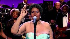 "Aretha Franklin sings ""Rolling in the Deep"" live on David Letterman in late summer, 2014."