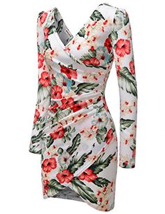 e0461080cb NEARKIN (NKNKWFD727) Womens Slim Cut Look Daily Casual U-neck Shirred Midi Dress  BLACK US XXS(Tag size XS) at Amazon Women s Clothing store
