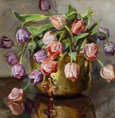 Tulips  by Rose Mead