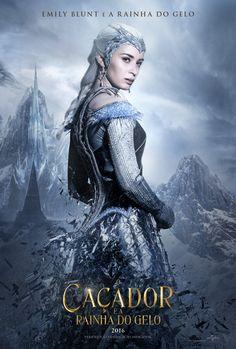 O Caçador E A Rainha Do Gelo Poster Emily Blunt