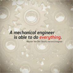 Mechanical Engineers Rock.