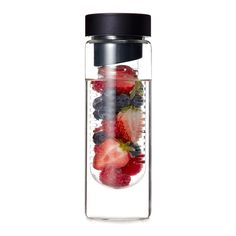A fruit-infusable water bottle will make hydration more enjoyable.