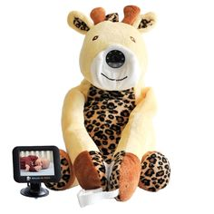 """Infanttech (OLD MODEL) Always-in-View 3.5"""" Video Baby Monitor (Giraffe) -The Baby Monitor for Home, Cars, and On the Go: Amazon.ca: Baby"""