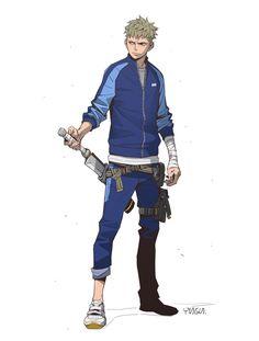 Swordsman by YUNGUN Y on ArtStation.