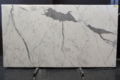 Statuario marble is very bright white in colour, and quite unique. This makes it one of the most expensive marble on the market. Statuario Marble, Marble Slabs, White Marble, Stone, Awesome, Color, Rock, Colour, Stones