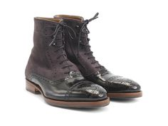 The Hartford is like a younger sibling, desperate to carve his or her own path, but highly prone to replicating some of the examples set by older role models. It features a familiar toe cap with brogue detailing you'll recognize from The Brandenburg, a leather sole with a custom Fluevog topsole, and a comfy, water-resistant suede shaft.