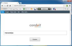 This page contains step by step instructions on how to remove Conduit Toolbar and search.conduit.com from Internet Explorer,Firefox and Google Chrome.