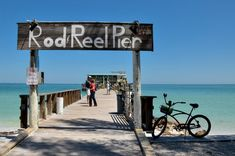 The Rod and Reel Pier on Anna Maria Island. Sunshine Skyway Bridge, Great Places, Places To Go, Bradenton Beach, Indian Shores, Anna Maria Island, Rod And Reel, Anna Marias, Great View