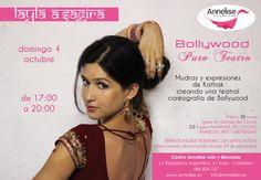 Workshop de Bollywood en Castellón con Layla a'Sagira