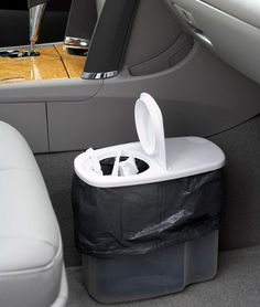 Use a cereal container as a trash can in your car or a small bathroom. Lots of other tips too!!