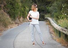 pantalon seersucker mango, claquettes piscines, sandales chloé like, celine sac trio, lunettes céline baby audrey, blog mode, blog mode tendance, blog mode nice