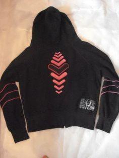 Cyber Heart hoodie- back