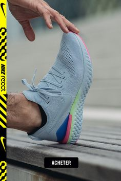 free shipping 48bb1 7a73e Chaussure de running Nike Epic React Flyknit 2 pour Homme