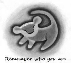 everyone is putting remember who you are with it so I think Hakuna Matata would be better. plus I have a bracelet I can wear with it that says remember who you are. boom shakalaka