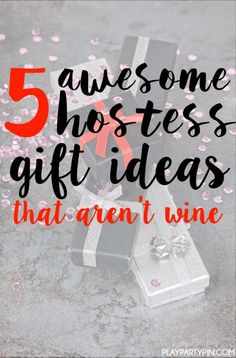 Already invited to 10 Christmas parties? Then you probably need some great hostess gift ideas. Forget the cookies and DIY crafts and try one of these 5 awesome hostess gifts instead. As a frequent hostess myself, I would love to receive #5! #FragrantJewel #ad