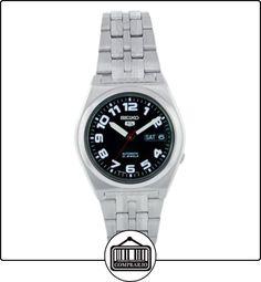 b3302d1f5243 Seiko SNK657K - Reloj analógico automático unisex con correa de acero  inoxidable