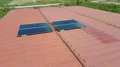 Test Solar  first 4 panel.