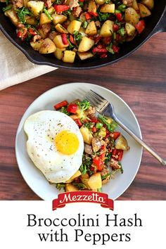 Start your day with a hearty bowl of our Broccolini Hash with Peppers. The flavors of fresh vegetables and savory Italian sausage will make the whole family leap out of bed. Learn how to make this comforting dish here!