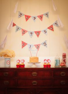 """vintage airplane first birthday party: this was what I came up with after all my pintrest inspiration! I made all the decorations and sweets. The recipes and ideas are all under my board: """"LIAM'S 1st BIRTHDAY"""" Budget about 100.00"""