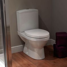 Sorrento Close Coupled Toilet is part of the Sorrento range which features attractive contours and a classic style. It has a dual flush to save water and it  can be fitted with a horizontal or vertical connection to the soil pipe. It comes complete with all internal cistern fixings and a full installation kit.