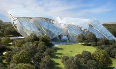 Museo Louis Vuitton Diseñado Por Frank Gehry Listo Para Abrir en París el 27 de Octubre
