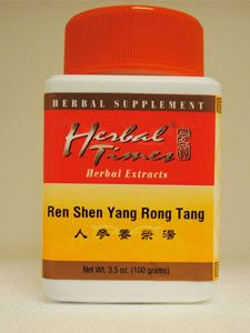 Herbal Times- Ren Shen Yang Rong Tang 100 gms