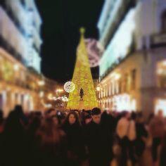 #PuertadelSol de #Madrid en #Navidad #2014 ©www.aunioncreatividad.com