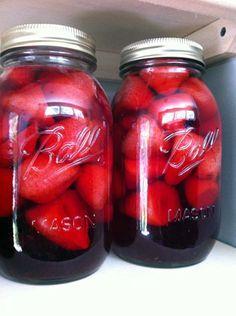 Strawberry Vodka and Strawberry Vodka Lemonade | Washingtons Green Grocer