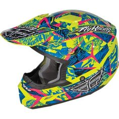 Fly Racing Trophy II Snocross Snowmobile Helmet Clearance! $74.95 | Snow
