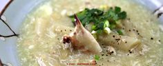 Asperge-krabsoep / Sup mang cua (foto: Pho Vietnam © Kim Le Cao)