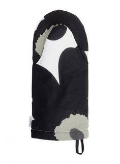 Pieni Unikko -uunikinnas (valkoinen, musta, oliivi) |Sisustustuotteet, Keittiö, Tekstiilit, Uunikintaat | Marimekko 17,50€