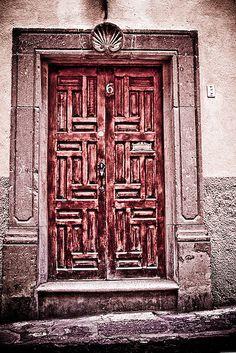 Door #6_San Miguel de Allende by Frank Ragan, via Flickr