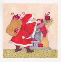 Annabel Spenceley - Stocking Santa