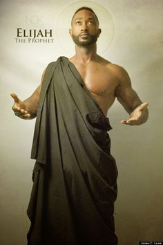 In a new collection, photographer depicts Biblical Icons as people of color. Take a look at some of the images inside.
