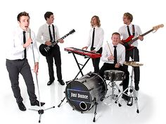 Just Dance - Live Music Management Yorkshire based corporate events band from www.lmmuk.com