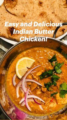 Asian Recipes, Mexican Food Recipes, New Recipes, Soup Recipes, Cooking Recipes, Healthy Recipes, Easy Indian Chicken Recipes, Chicken Curry Recipes, Ethnic Food Recipes