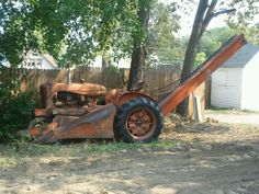 1931 AC corn picker.