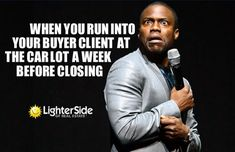 #Mortgage humor right here :D| One of our worst nightmares! Photo credit: Lighter Side of Real Estate #realestatememes