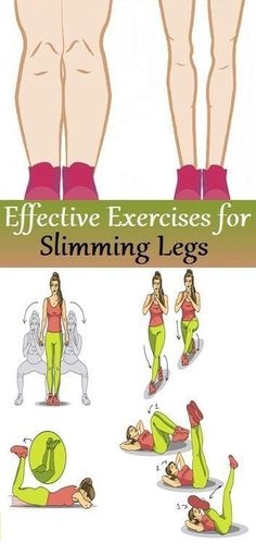 Effective Exercises for Slimming Legs..