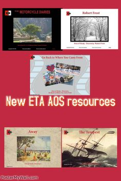 Excellent website for related texts created by Viviana Mat. Shared at 2014 ETA Conference.
