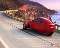 Elio Motors' Futuristic Three-Wheeled Car