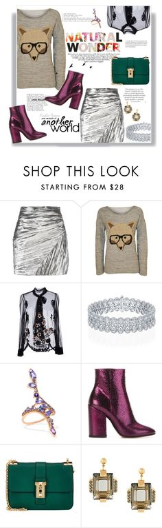 """""""⛅"""" by railda-pereira ❤ liked on Polyvore featuring Yves Saint Laurent, WearAll, RED Valentino, Fernando Jorge, Dries Van Noten, Valentino and Marni"""