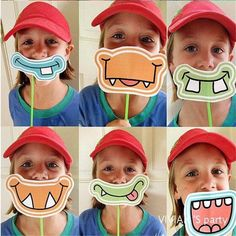 Photo Booth Props Party Mask Photobooth Birthday Wedding Decoration Glasses
