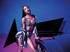 RihannaxRiver-Island-Snobette-1 Charlotte Free starring in it. Shot b Mario Sorrenti